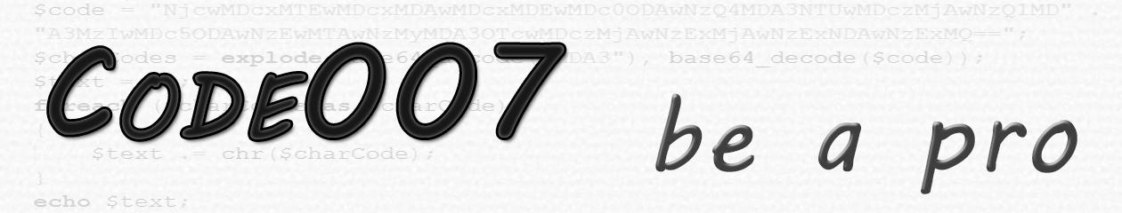 Code007